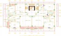 عمل تصميمات معمارية داخلية وخارجية باستخدام الاتوكاد
