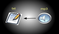 تحويل اى تسجيل او مقطع صوتى ل ملف Word