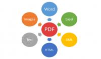 تحويل ملف الpdf الي word اوimg اوHtml اوpowerpoint اوExcel