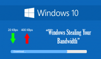ايقاف استهلاك WINDOWS 10 لباقة انترنت حاسوبك في الخفاء