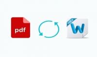 تحويل محتوى PDF الى محتوى نصي