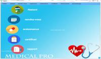 إنجاز برنامج إدارة عيادة طبية