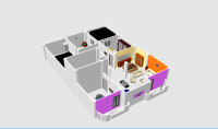 رسم وتصميم أي شكل ببرنامج أوتوكاد مثل  واجهة عمارات  فلل  منازل