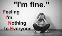 اعطاءك محاضرة عن الاكتئاب وكيفيه التغلب عليه