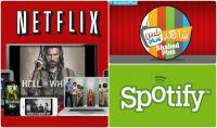 اقدم لك حساب حساب مدفوع في Netflix و Spotify و Shahid puls