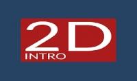 تصميم 3 انتروهات 2D بإسمك أو بأي عبارة تريدها