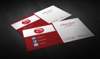 تصميم بطاقة عمل احترافية و انيقة