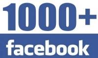 1000 معجب لصفحتك على الفيس بوك