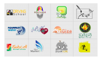 صمم الآن شعار عصري خاص بك.  logo