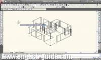 ساقوم ب عمل هندسي معماري على برنامج autocad