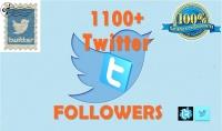 أضافة 1100 متابع لحسابك على تويتر