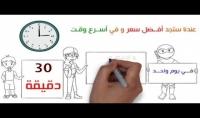عمل فيديو دعائي لشركتك أو موقعك على طريقة وايت بورد whiteboard animation HD