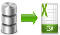تصدير البيانات من صيغة لاخرى مثال From DataBase To Excel