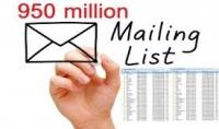 اليك 950 مليون ايميل جديدة للتسويق للربح اوافعل بها ماتشاء اكثرهم للمسوقين