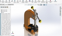 عمل تصميم ثلاثي الابعاد على برنامج Solidworks