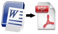 تحويل الملفات من صيغة الوورد الى pdf