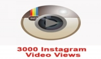 اضافة3000 مشاهدات انستجرام لفيديو الخاص بك