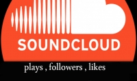 اضافة 1000 plays لمقطعك الصوتى و 100 followers و 100 likes علي soundcloud