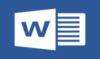 الكتابة على برنامج ورد بفراغ تام للعمل