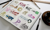 تصميم شعارات و هويات أنيقة بدقة عالية   VECTOR