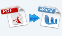 كتابة 10 صفحات على الورد وتحويل ملفات Pdf الى Word