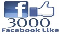 احصل على 3000 لايك لمنشورك او تعليقاتك في فايسبوك مقابل 5 $