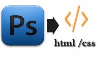 تكويد ملف PSD الي صفحه HTML amp; CSS