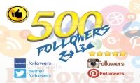 جلب و اضافة 500 مشترك فلورز لايك ريتويت مفضلة للفيسبوك و تويتر و انستاغرام