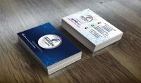 تصميم كارت شخصي business card إحترافي وراقي