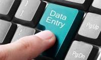 كتابة النصوص Data entry