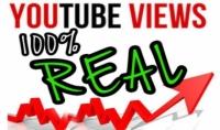 اعطائك 5000 مشاهدة باليوتوب حقيقية امنة وعالية الجودة