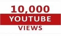 10 ألاف مشاهدة حقيقية وآمنة لأي فيديو على اليوتيوب