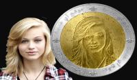 وضع صورتك او شعارك على قطعة نقدية معدنية
