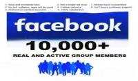 اضافة عشرة الاف عضو عربي حقيقي 100% لجروبك علي الفيس بوك.