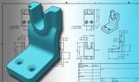 تصميم خرائط هندسية في برنامج الاوتوكواد