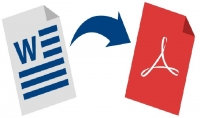 تحويل الملفات Word الى ملفات PDF و العكس