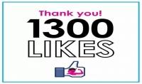 اضافة 1300 فيس بوك لايك حقيقى