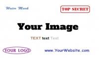 اضافة شعار او علامة مائية على عدد كبير من الصور