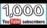 1000 لايك أو إشتراك أو مشاهده لفيديو يوتيب في 24 ساعه