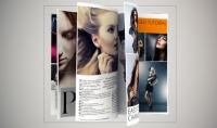 تصميم مجله متحركه مبتكره بتاثيرات روعه.