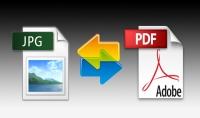 تحويل صور الى PDF
