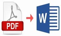 تحويل ملف PDF الي Word والكتابة علي الـ Word