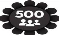 500 متابع خليجي متفاعل