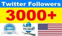 اضافة اكثر من 3000 امريكي لحسابك على تويتر