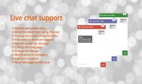 شات الدعم الفنى لمواقع خدمات الانترنت Live Chat Support