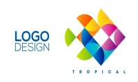 الشعارات   Logo Design فقط