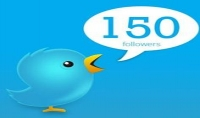 150 متابع حقيقي أجنبي متفاعل
