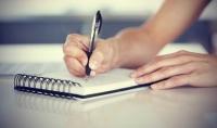 الكتابة بخط اليد