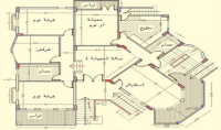 تصميم معماري للمنشآت السكنية والمباني التجاريه مع امكانية رؤية الشكل النهائي ثلاثي الابعاد