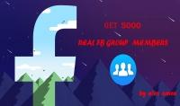 اضافة 5000 عضو لمجموعتك على الفيسبوك